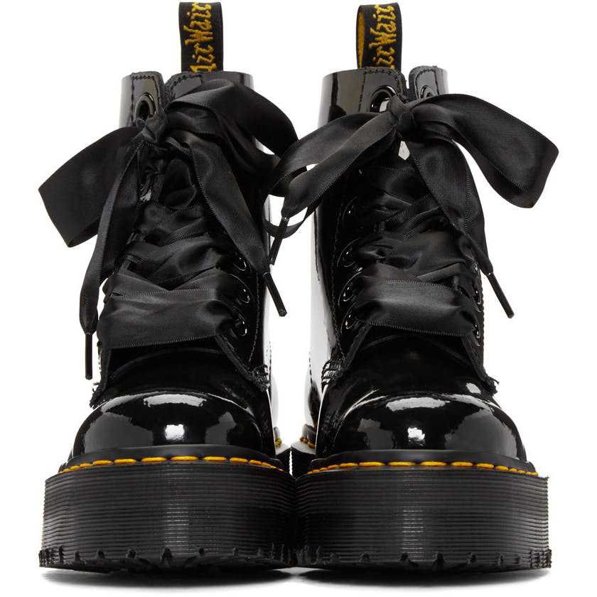 24% off on Dr. Martens Molly Patent Boot (Limited Stock & Sizes Available) | OneDayOnly.co.za
