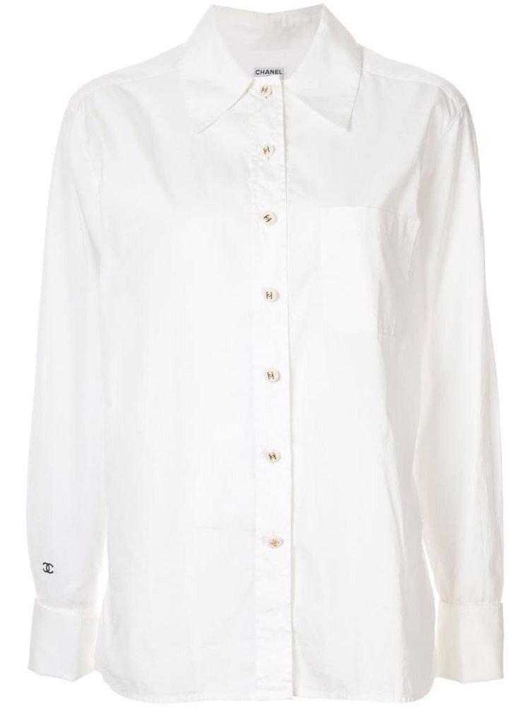 Chanel Long-Sleeve Shirt