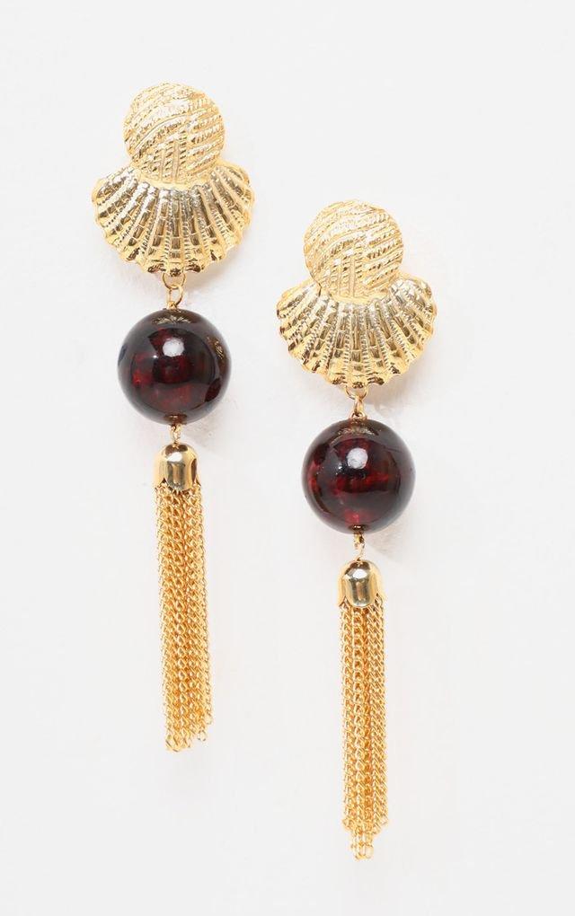 Statement Earrings   Feather & Tassel Earrings   PrettyLittleThing USA