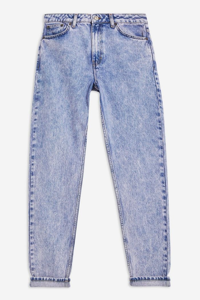 Lilac Acid Mom Jeans | Topshop