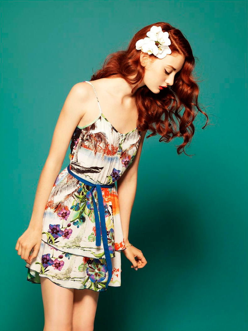 Codie Young photoshoot
