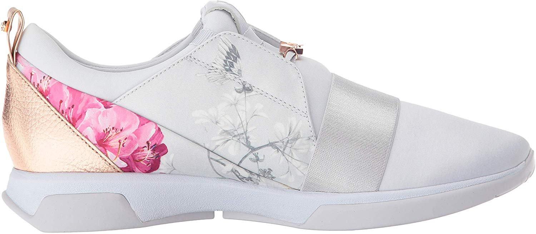 Amazon.com: Ted Baker Women's Cepa Sneaker, BABYON Grey Textile, 8 Medium US: Gateway