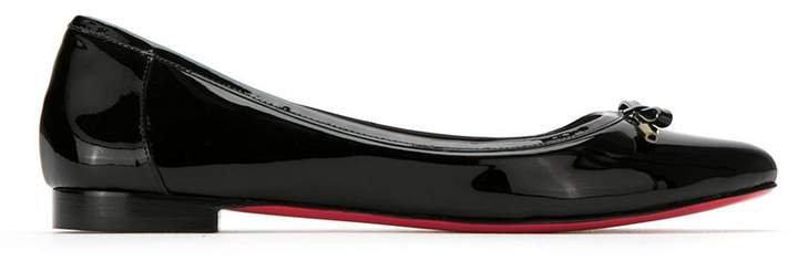 Zeferino patent leather ballerinas