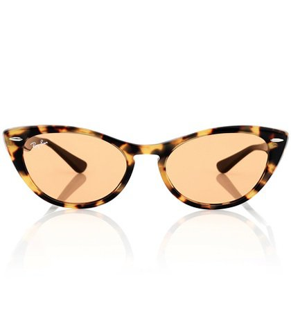 Nina X cat-eye acetate sunglasses
