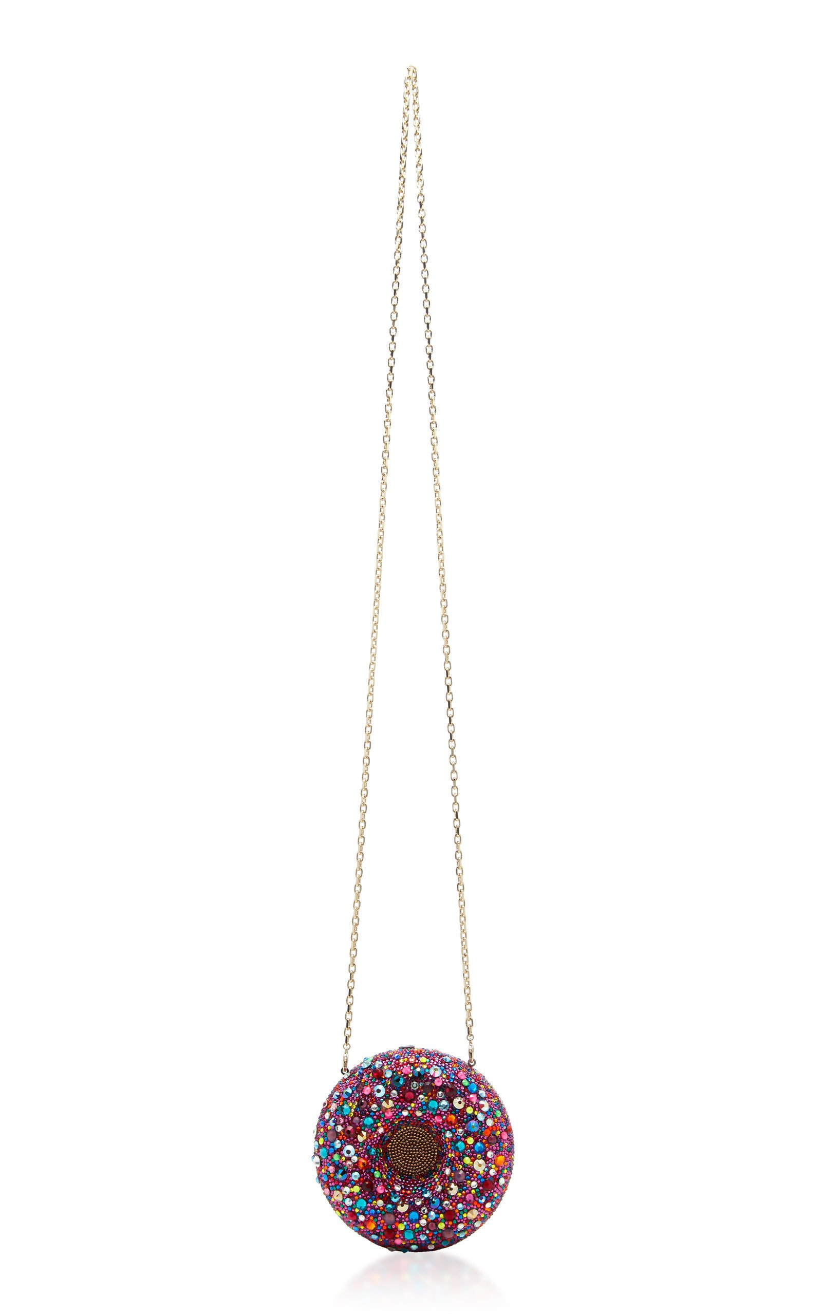 Confetti Donut Crystal-Embellished Clutch by Judith Leiber Couture   Moda Operandi