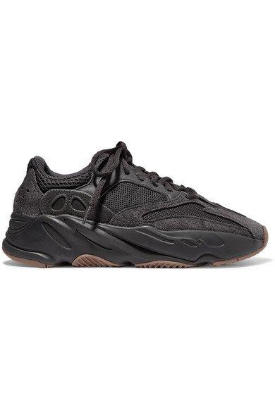 adidas Originals   Yeezy Boost 700 mesh and suede sneakers   NET-A-PORTER.COM