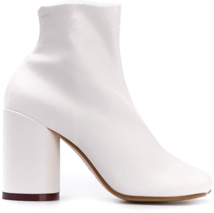 squared ankle boots