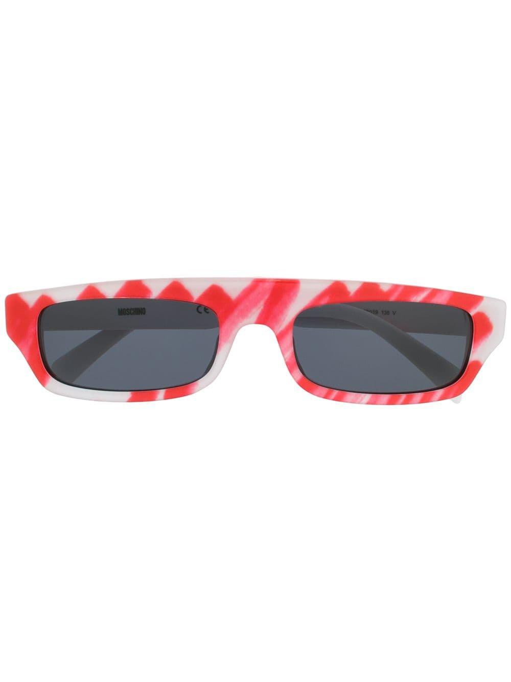 Moschino Eyewear Brushstroke Sunglasses - Farfetch