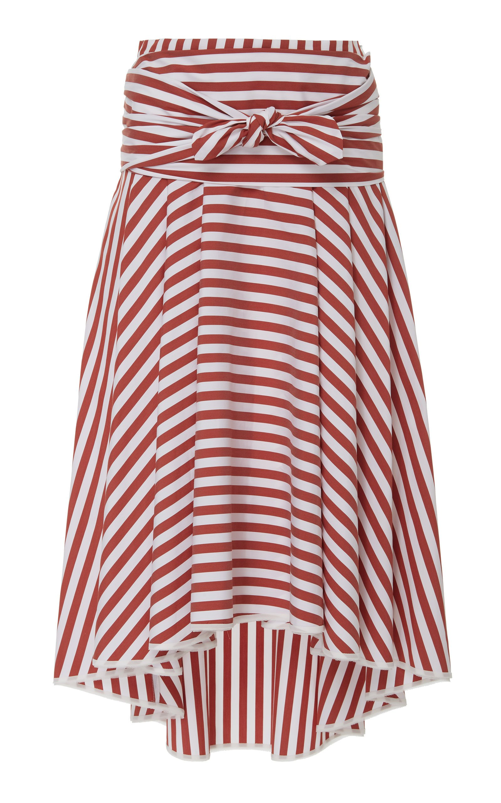 Smarteez Striped midi skirt