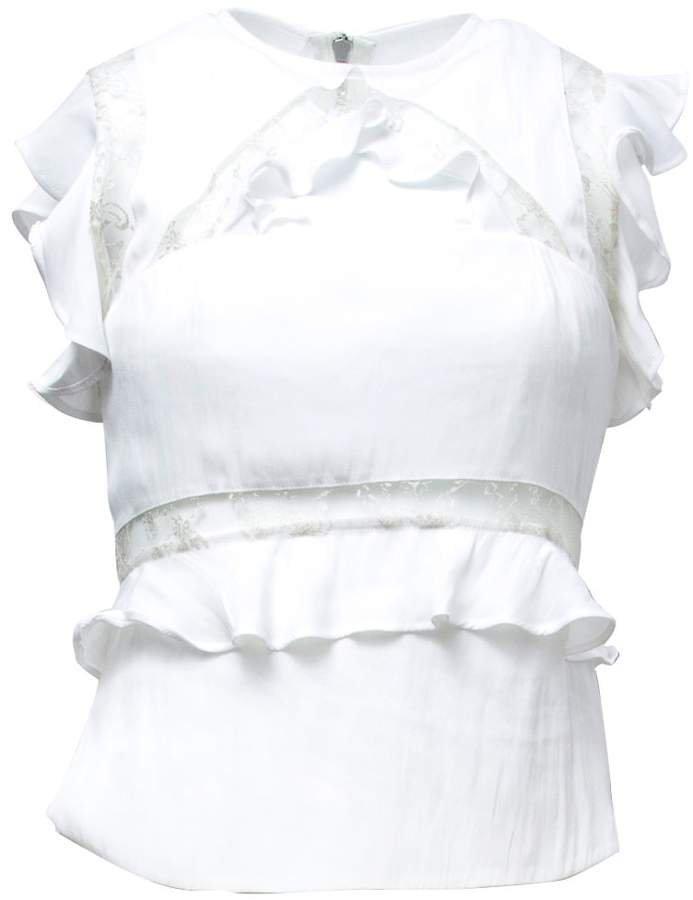 VHNY - White Sleeveless Top