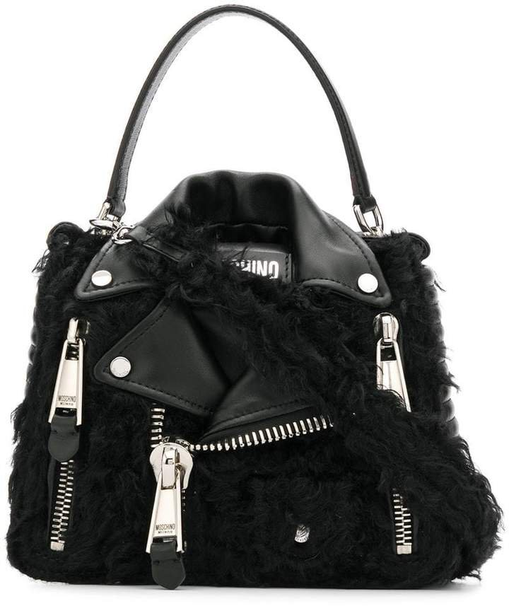75578213 A8555 BLACK Leather/Fur/Exotic Skins->Leather