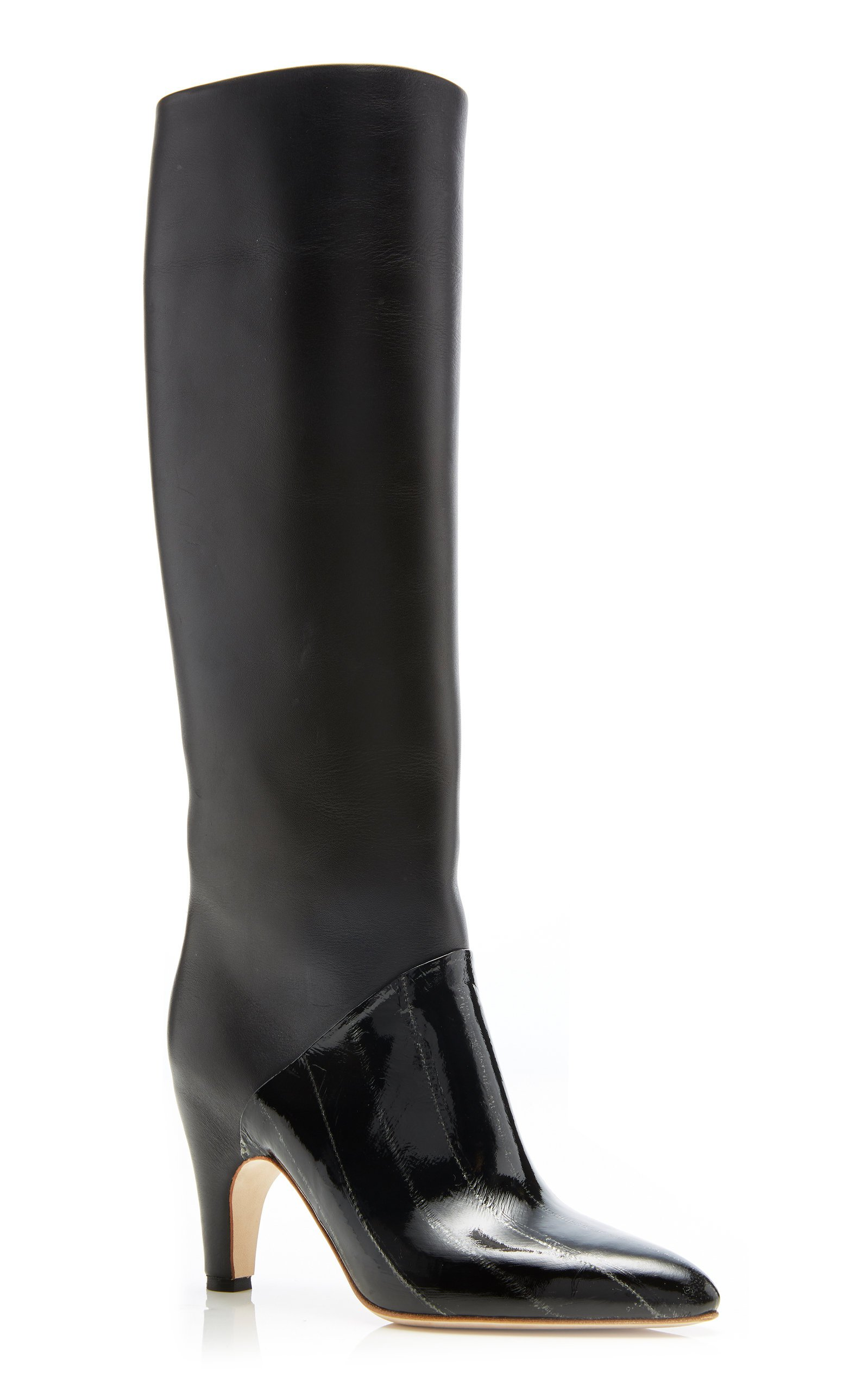 Rimbaud Leather Boots by Gabriela Hearst   Moda Operandi
