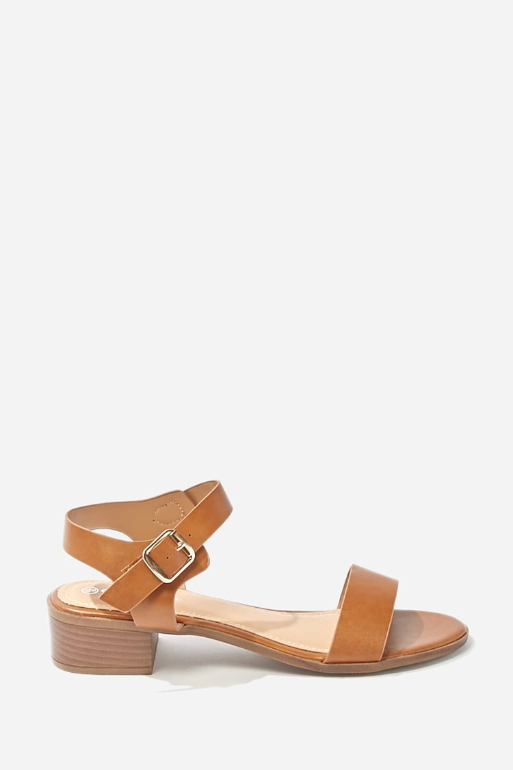 Faux Leather Sandals | Forever 21