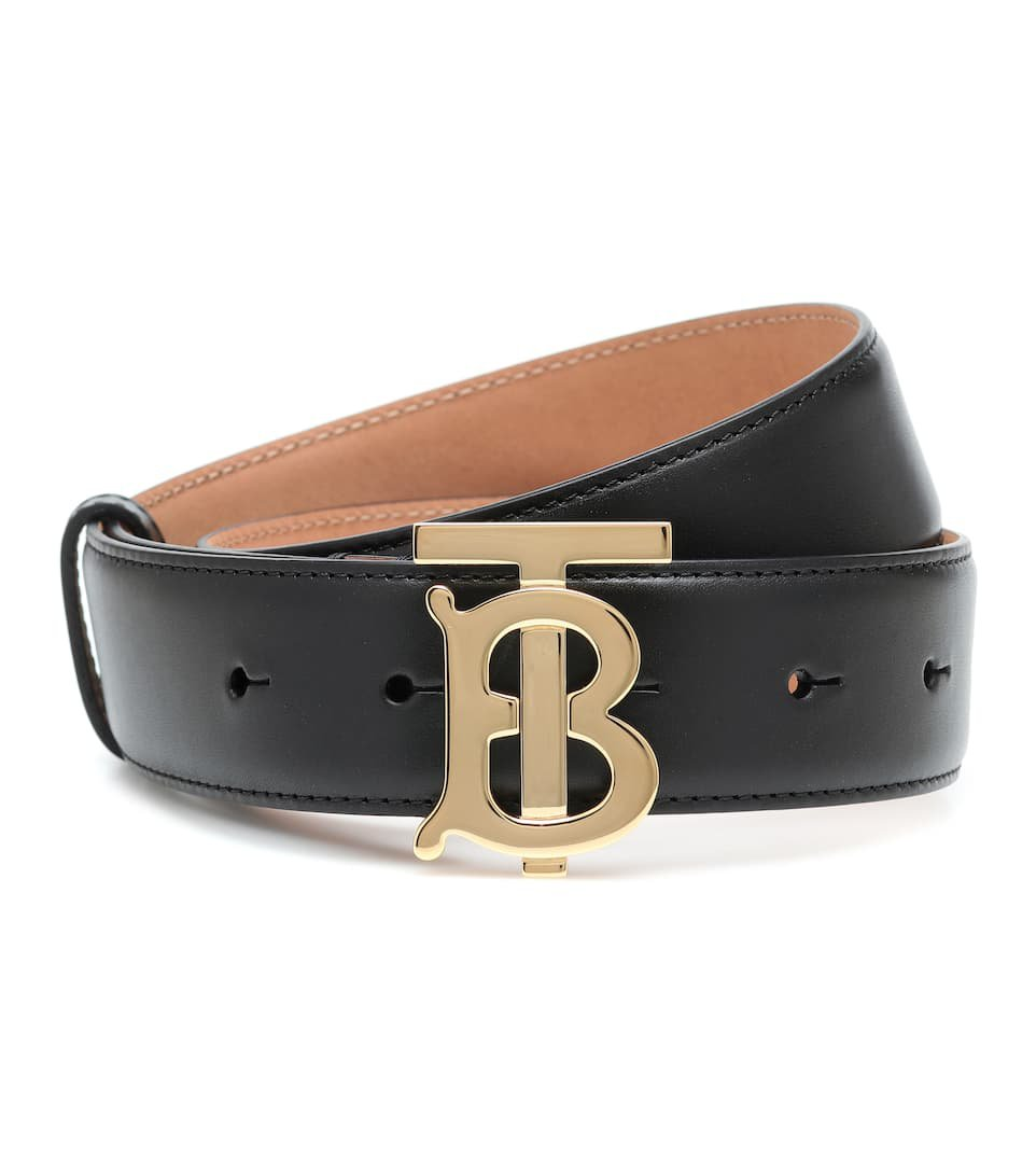 Tb Leather Belt - Burberry | Mytheresa