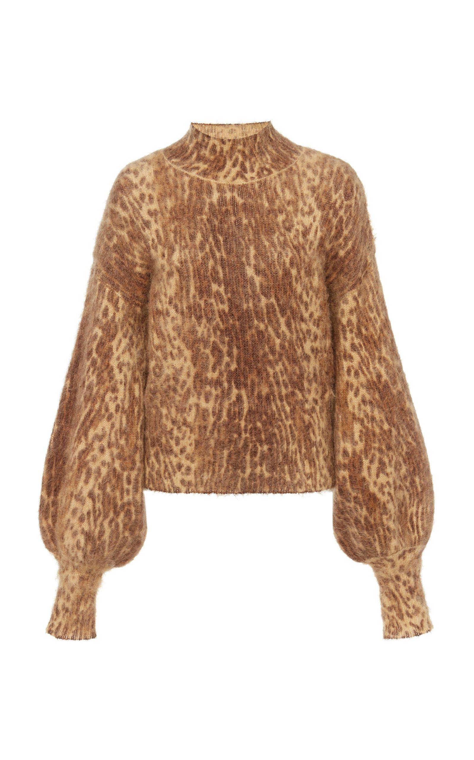 Printed Mohair-Blend Sweater by Zimmermann | Moda Operandi