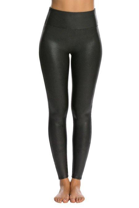 Spanx - Faux Leather Leggings - black