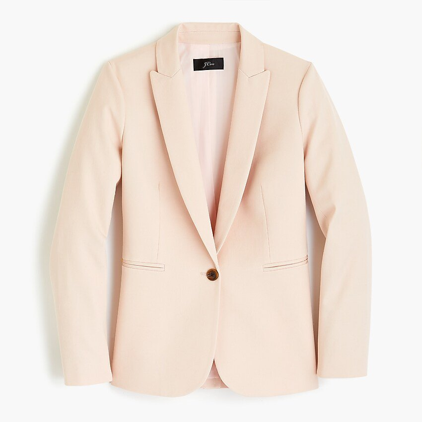 J.Crew: Parke Blazer In Bi-stretch Cotton