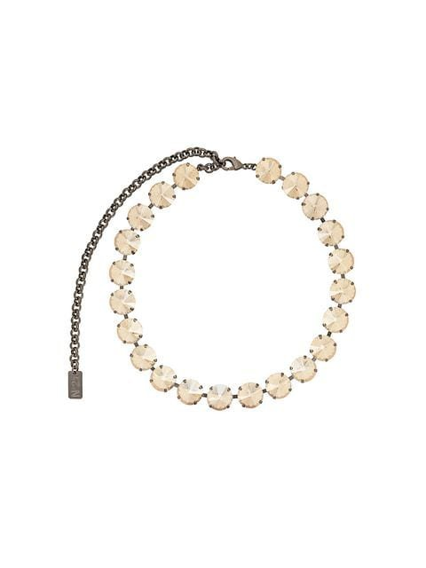 Nº21 crystal choker necklace