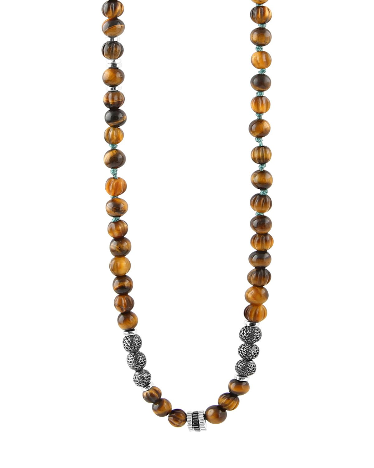 Tateossian The Formentera Tiger Eye Necklace