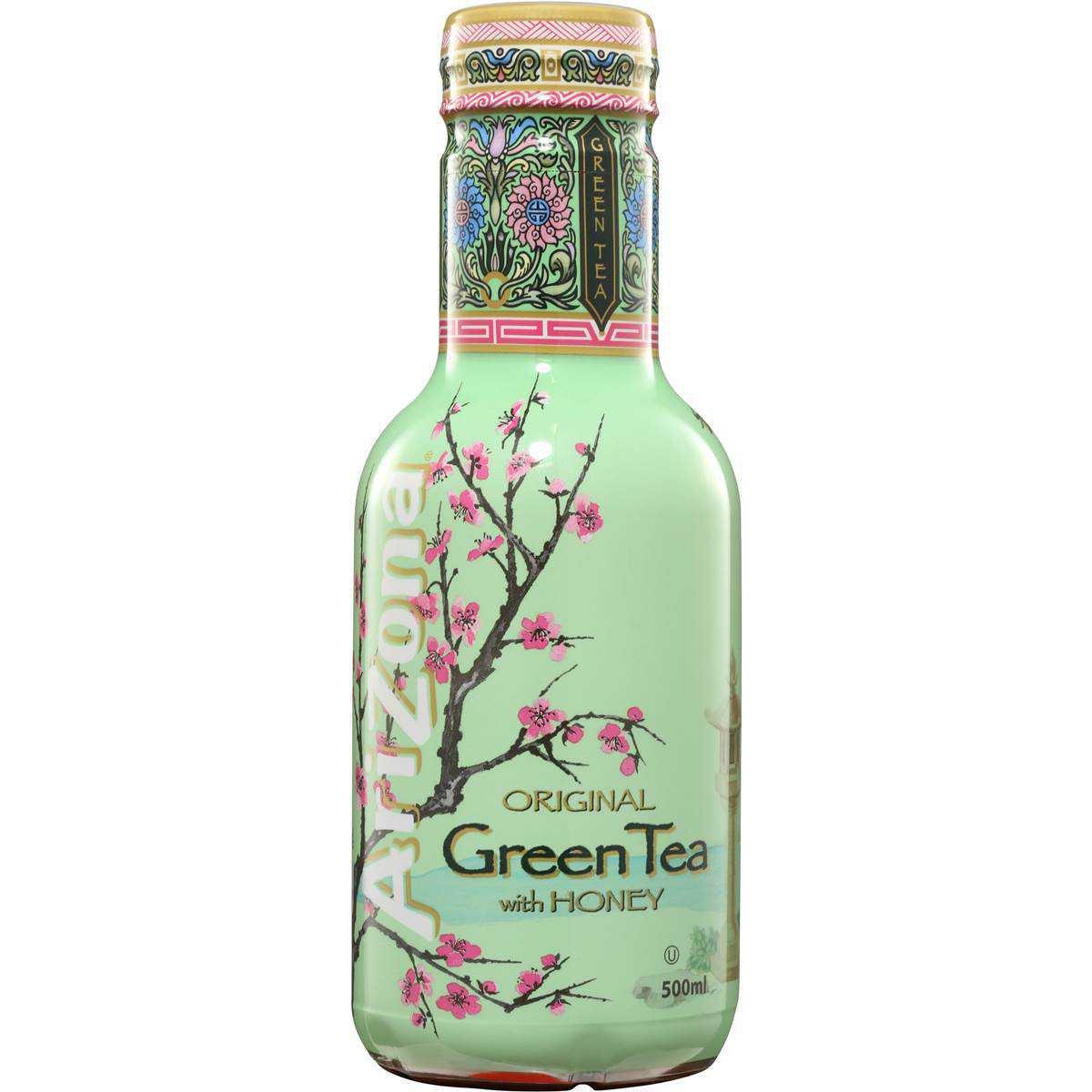 Arizona Green Tea With Honey Ice Tea 500ml | Woolworths