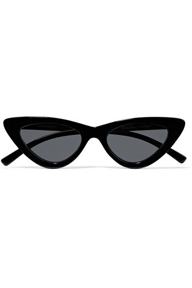 Le Specs | + Adam Selman The Last Lolita cat-eye acetate sunglasses | NET-A-PORTER.COM