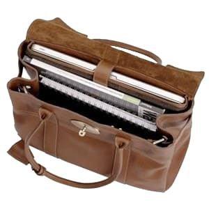 Brown satchel