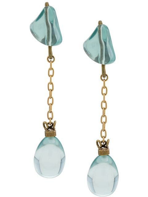 Marni irregular drop-shaped earrings