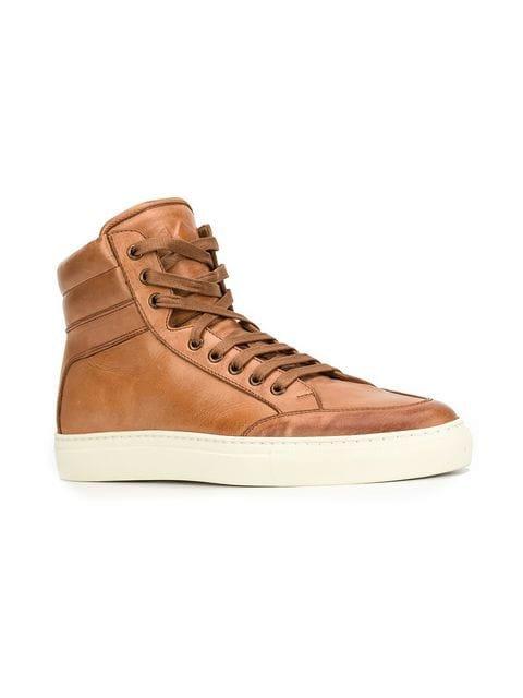 Koio Primo Castagna hi-top sneakers
