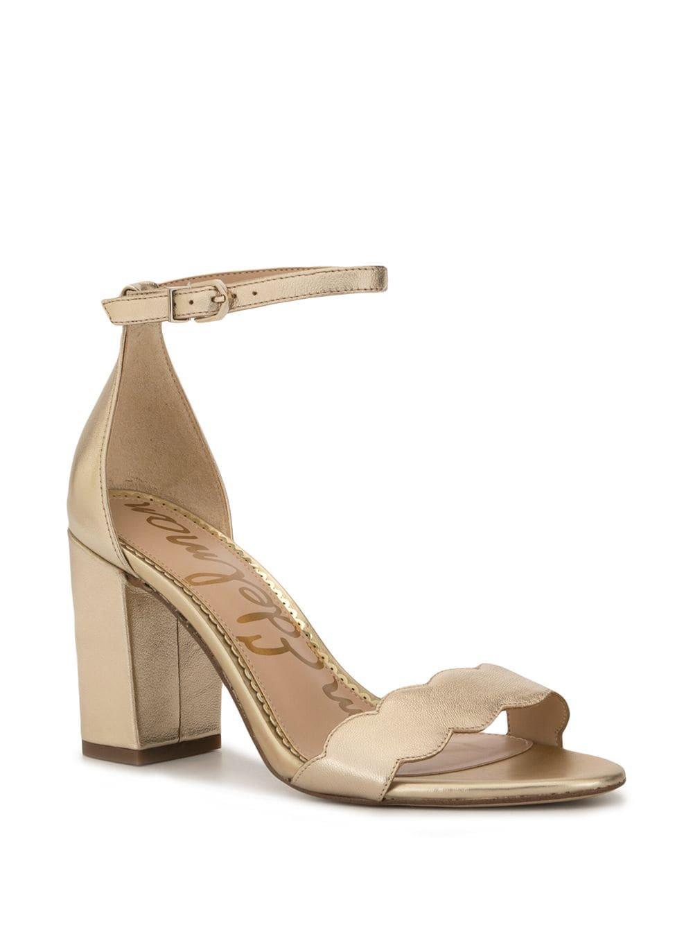 Sam Edelman Odila Scalloped Strap Sandals   Farfetch.com