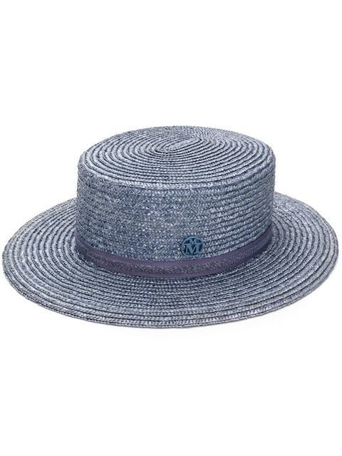 Maison Michel Kiki Canotier Hat - Farfetch
