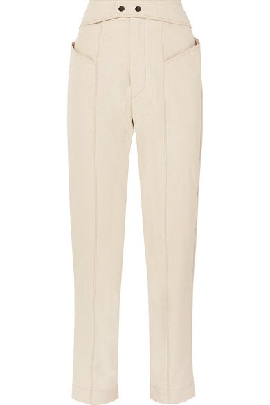 Isabel Marant | Pantalon fuselé en serge de coton Lixy | NET-A-PORTER.COM