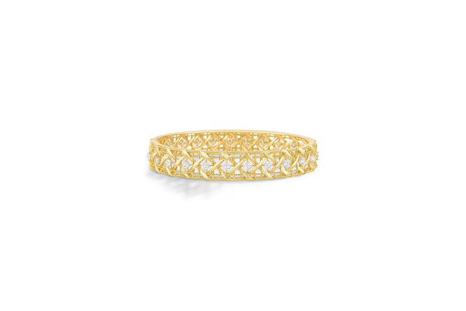Dior My Dior Yellow Gold and Diamond Bracelet