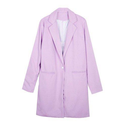 Pastel Purple Women's Winter Coat - Code500