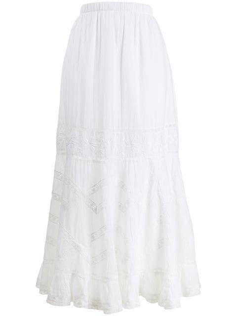 Love Shack Fancy Ali Skirt - Farfetch