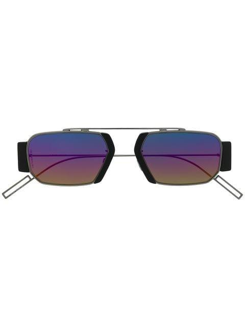 Dior Eyewear Chromatic Oval Sunglasses - Farfetch