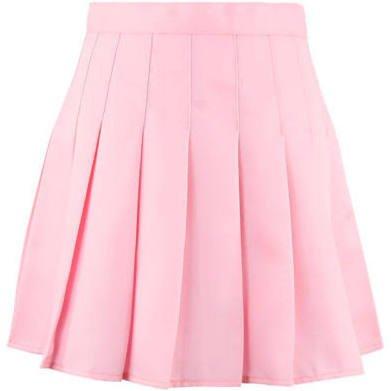 Japanese Preppy Style Pleated Skirt JK Uniform Pure Colour A-Line Skirt Students