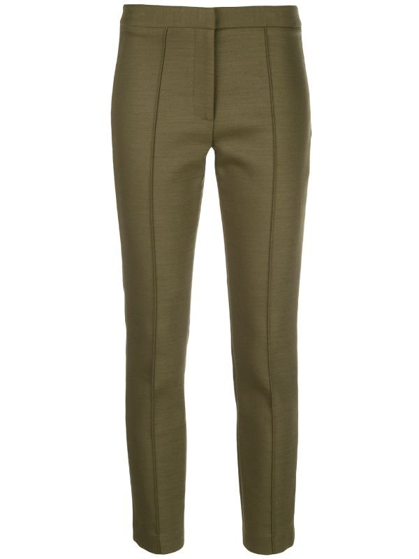 Adam Lippes Cropped slim-fit Trousers - Farfetch