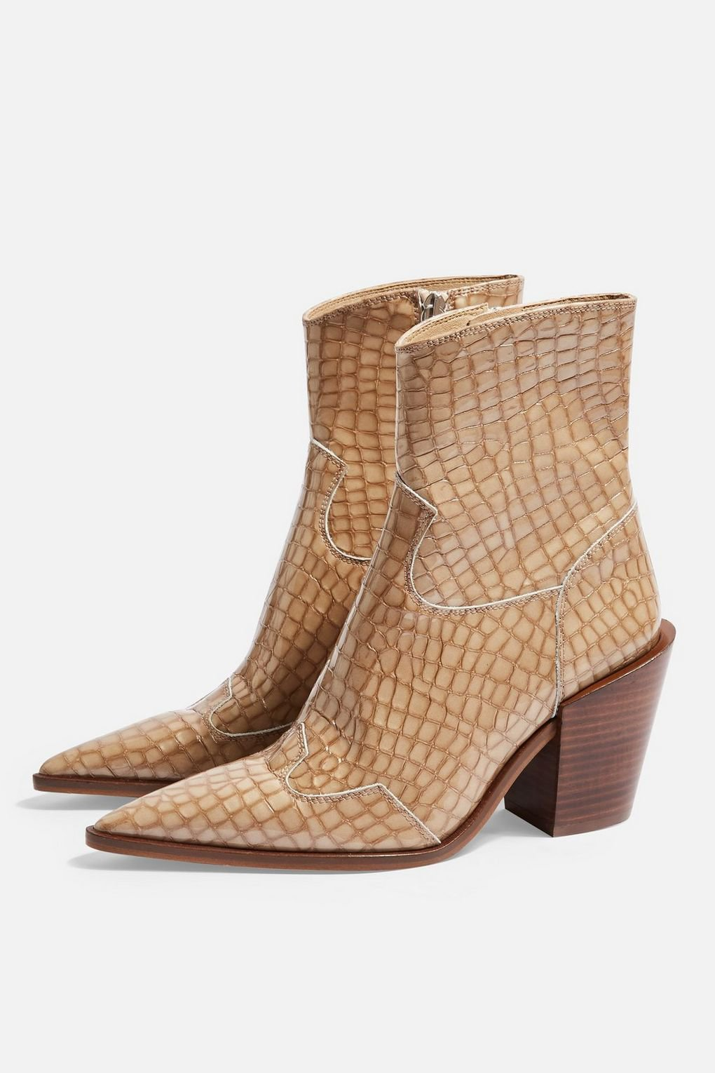 HOWDIE Western Boots - Shoes- Topshop USA