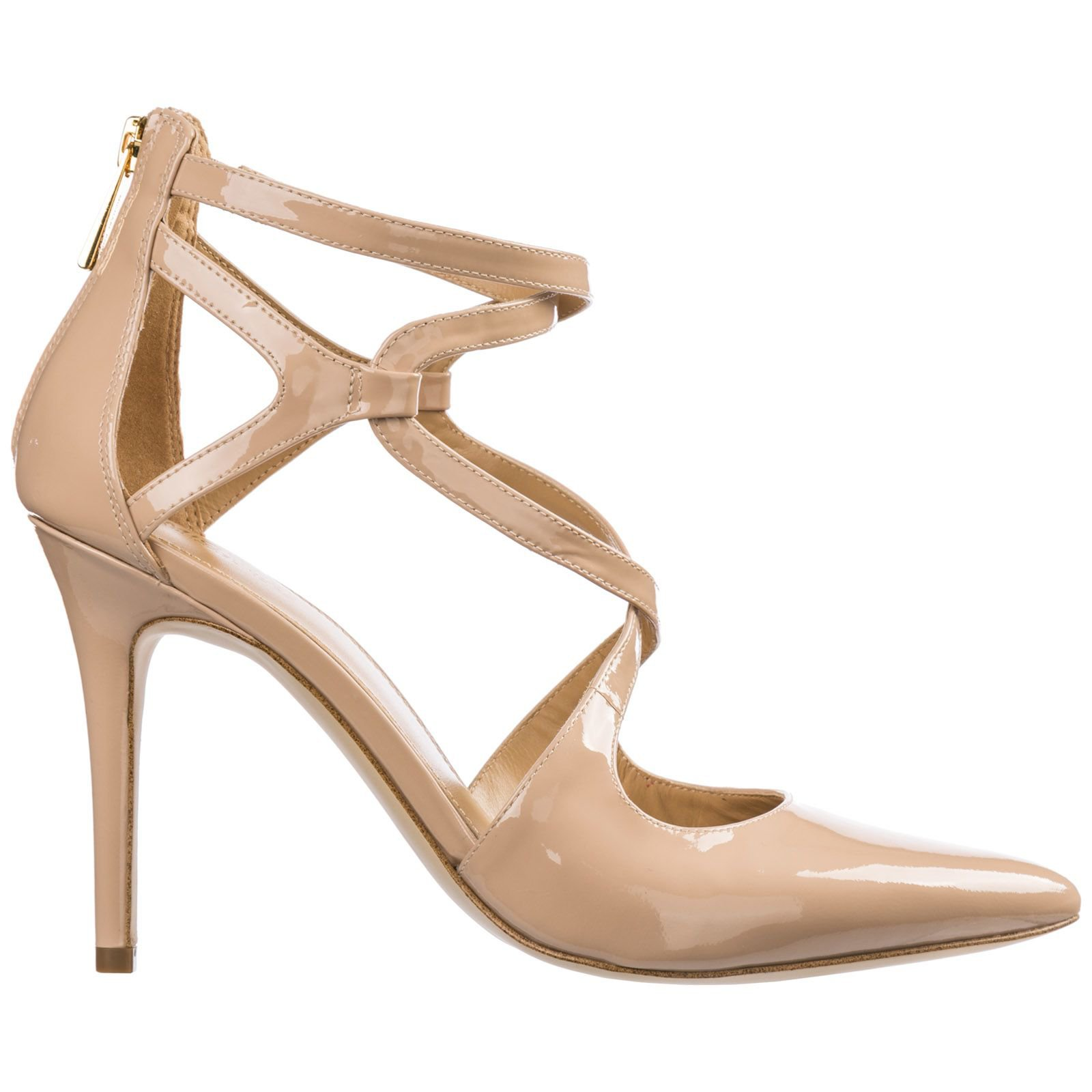 Michael Kors Leather Pumps Court Shoes High Heel Catia