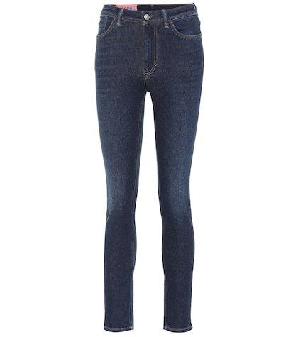 Blå Konst Peg skinny jeans