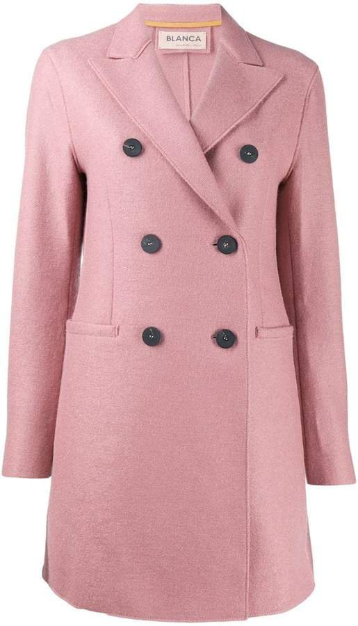 Blanca double breasted coat
