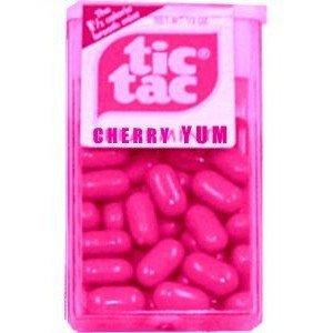Hot-Pink Tic Tacs