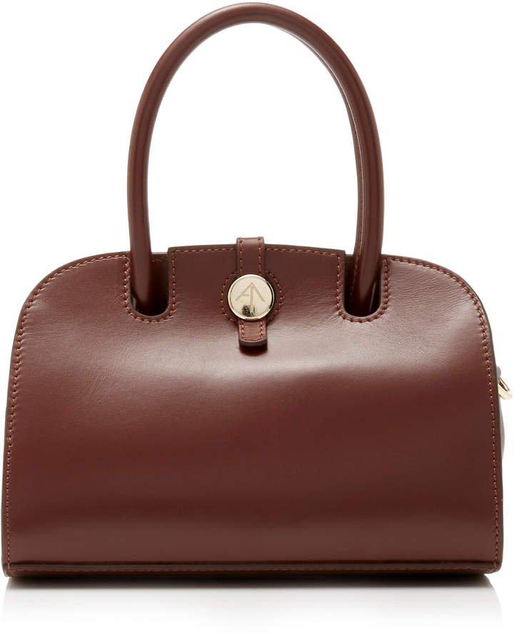 Manu Atelier Micro Leather Shoulder Bag