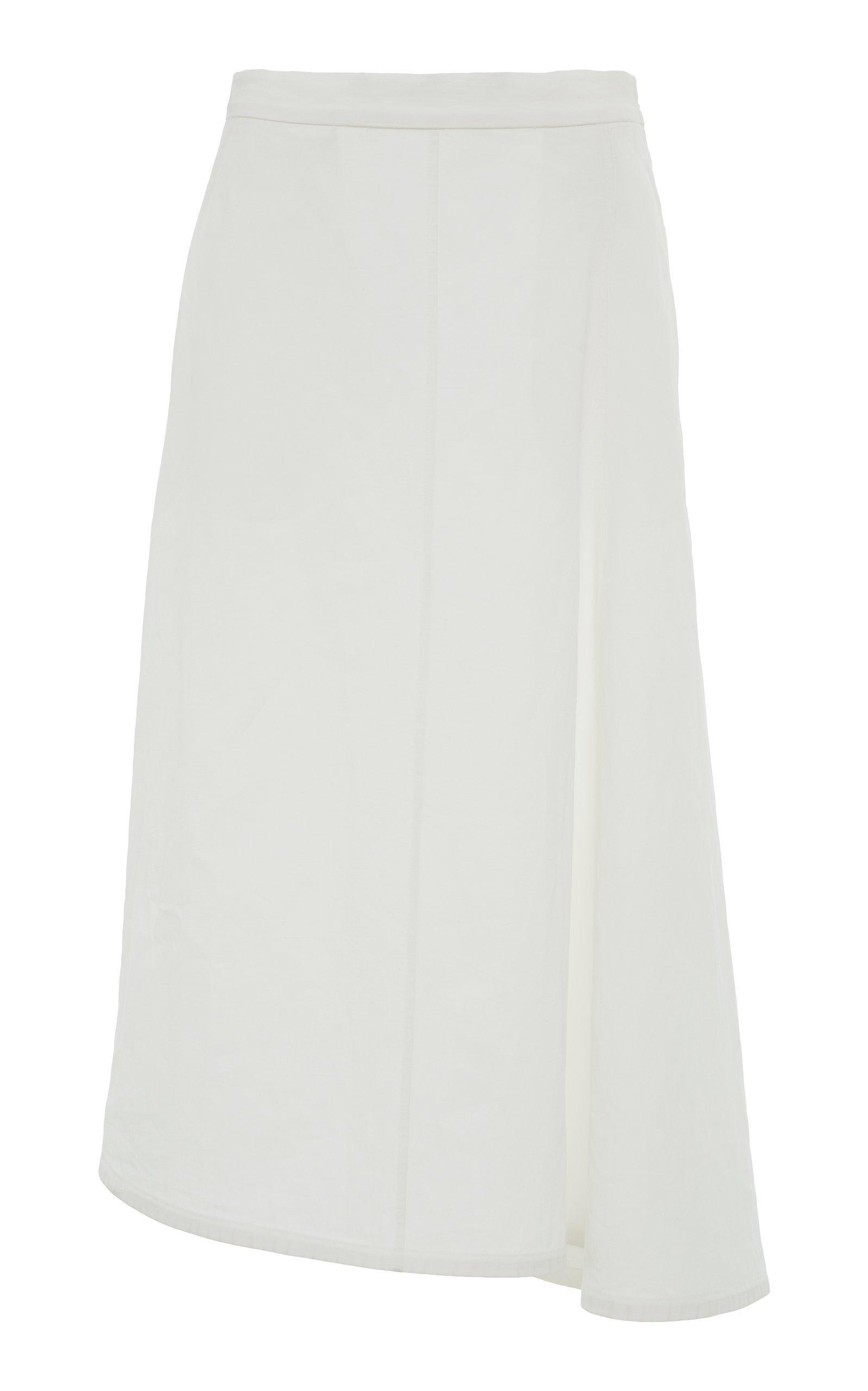 Jil Sander Mia Linen Skirt