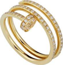 CRB4211900 - Bague Juste un Clou - Or jaune, diamants - Cartier