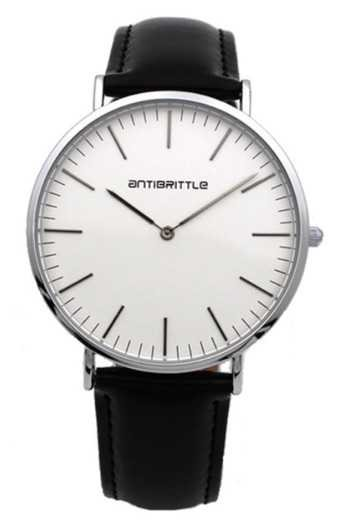 Black and Silver Watch