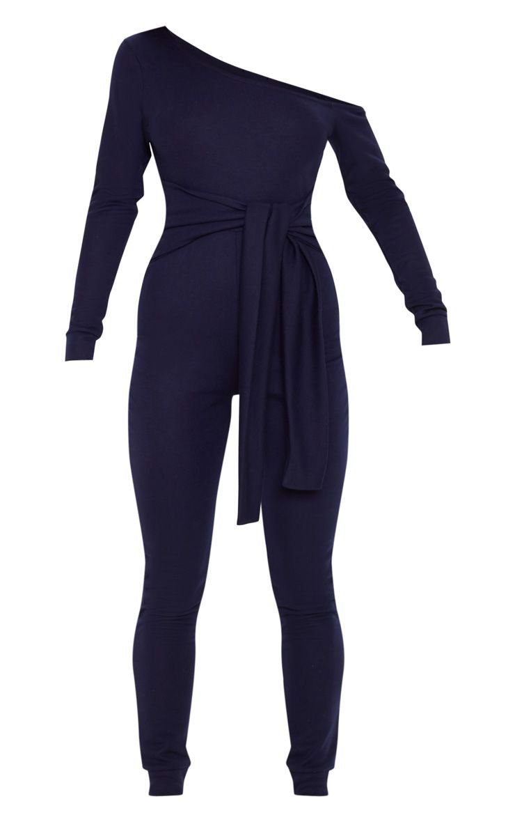 Navy Sweat Jumpsuit   Jumpsuits & Playsuits   PrettyLittleThing