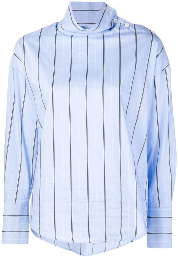 Tela striped turtleneck shirt