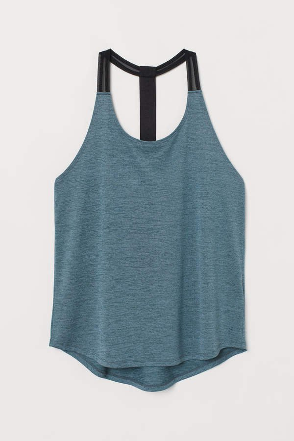 Sports Tank Top - Turquoise