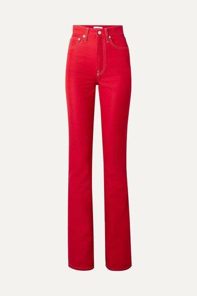 Helmut Lang | High-rise slim-leg jeans | NET-A-PORTER.COM